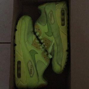 Nike AirMax neon yellow US 5.5